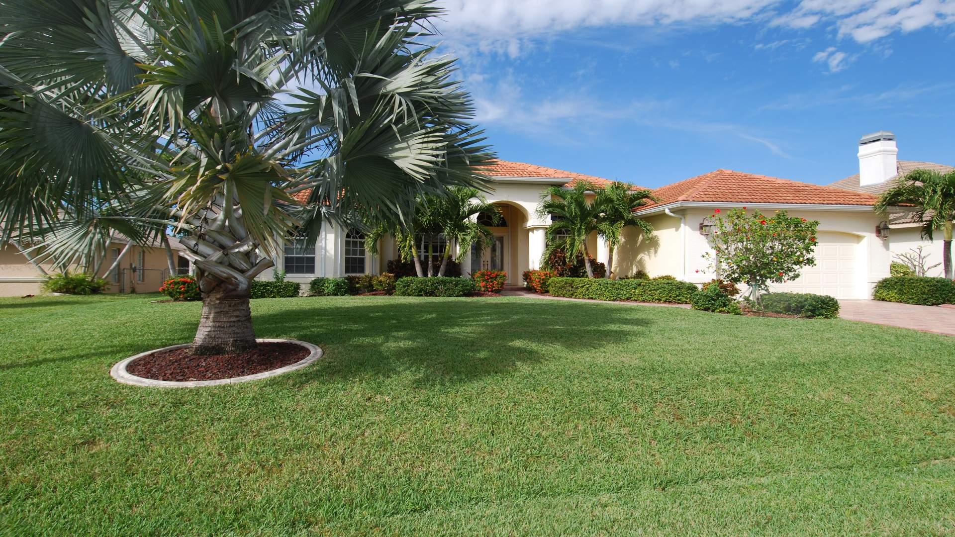 Ferienhaus mit exotischem Flair: Villa Black Diamond in Cape Coral
