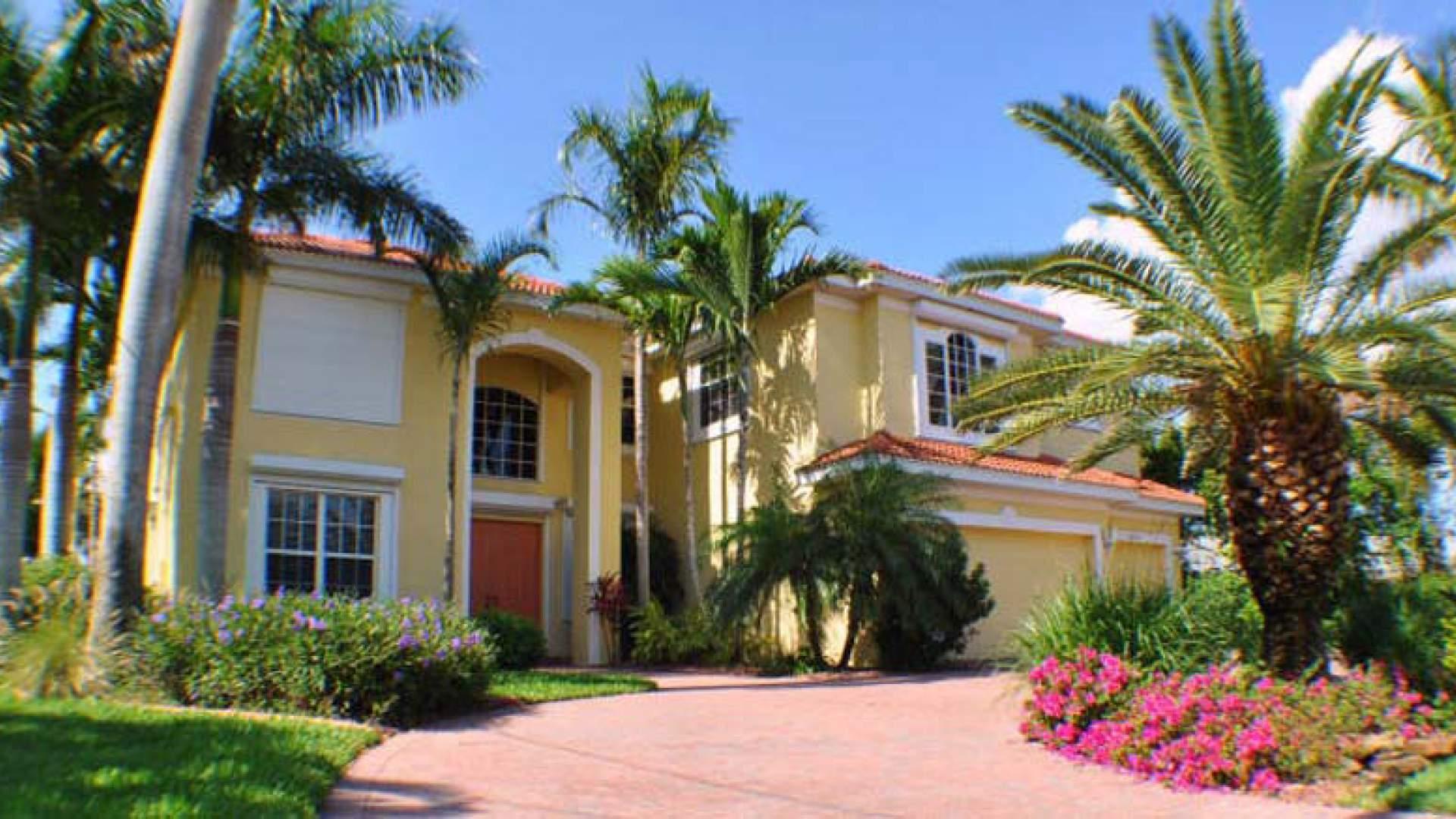 Die Palm Residence bietet Luxus mit tropischem Flair