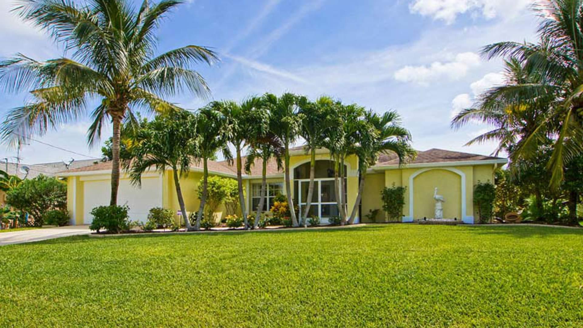 Ein Ferienhaus zum Wohlfühlen im Südwesten von Cape Coral